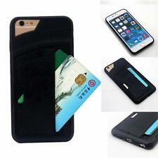 Credit Card Holder Wallet Leather Case Cover Shockproof For iPhone 6/6s 6s Plus