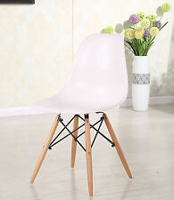 Charles Eames Inspired Eiffel DSW Retro Style Lounge Dining Chair WHITE New 071