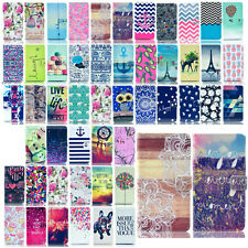 For Samsung Galaxy Note 4 3 S5/S4/S3 Mini Pattern -YB Stand Leather Cover Case