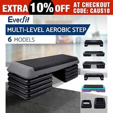 Everfit Aerobic Gym Workout Exercise Cardio Fitness Bench Blook Step level