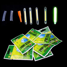 50Pcs Light Fishing Lightstick Fluorescent Float Night Dark Glow Stick 25mm/37mm