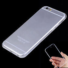 Soft Crystal Clear/ Matte TPU Case Cover Ultra Thin Skin For iPhone 6 6S/6S Plus