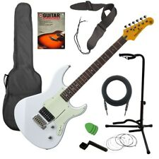 Yamaha Pacifica PAC510V Electric Guitar - White GUITAR ESSENTIALS BUNDLE