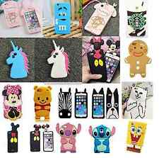 Lovely Animals 3D Cartoon Soft Silicone Gel Back Case Cover For Various Phones 1