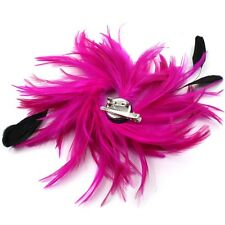 Hair Clip Fascinator Feather Corsage Clip Pin Cocktail Ladies Hair Accessories