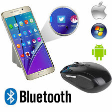 Wireless Bluetooth Optical Mouse Mice for Windows 7/8 Android Macbook Cellphone