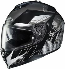 HJC IS-17 Blur MC-5 Black Full Face Motorcycle Helmet