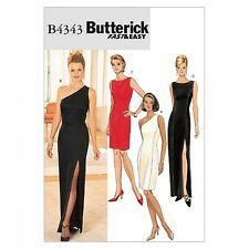 Butterick Ladies Easy Sewing Pattern 4343 Evening Dresses (Butterick-4343-M)