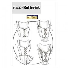 Butterick Ladies Sewing Pattern 4669 Historical Costume Corsets (Butterick-46...