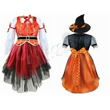 New Children Girls Pirate Fairy Halloween Party Fancy Dress Kids Costume Outfit