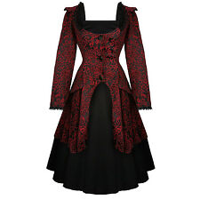 Hearts & Roses London Gothic Victorian 1950s Romantic Prom Dress and Jacket