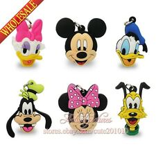 Random 100PCS Mickey Minnie Keychains Necklaces Pendants,Cellphone Charms Gifts