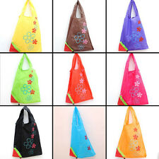 New Shopping Bags Nylon Strawberry Foldable Recycle Reusable Carrier Tote Bag