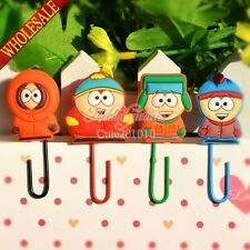 100pcs South Park Bookmarks For Book Holder,Paper clips,Kids Practical gifts