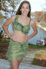 Sage green competition dance costume, lyrical, modern, open AS AXS ASM