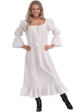 Ladies Medieval Fancy Dress Chemise Maid Marion Tudor Victorian Old England New