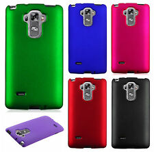 For LG G Vista 2 Rubberized HARD Protector Case Snap Phone Cover + Screen Guard