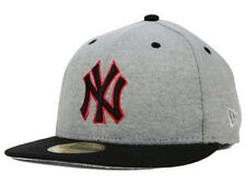 New York Yankees MLB New Era Athletic Sweat Pop Fitted Flat Bill Brim Hat Cap NY