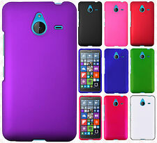 For Microsoft Lumia 640 XL Rubberized HARD Protector Case Cover +Screen Guard