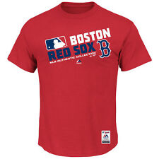 Boston Red Sox Majestic Team Choice T-Shirt - Red - MLB