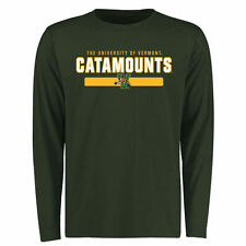 Vermont Catamounts Team Strong Long Sleeve T-Shirt - Green - College