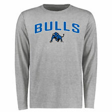 Men's Ash Buffalo Bulls Proud Mascot Long Sleeve T-Shirt - College