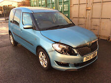 2012 Skoda Roomster 1.2 TSI (105ps) Auto SE Damaged Repairable Salvage