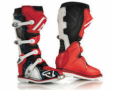 Acerbis X-Pro Boots Motocross Enduro Cross Quad red Size 42-47