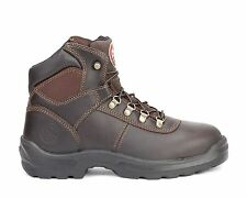"""Irish Setter Mens 6"""" Work Soft Toe Boots Ely Brown 83607"""