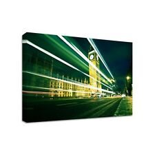 Big Ben Night - Framed Canvas Art Print - Cityscape London - Many Sizes