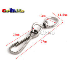 Metal Swivel Snap Hooks for Paracord Lanyards Keychain Carrying Bags Luggage