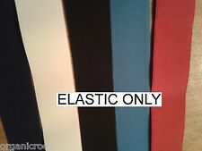 "NURSE BELT ELASTIC 2"" wide. Make your own belt. all colours"