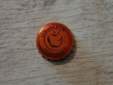 BEER Bottle Crown Cap ~*~ STRONGBOW Hard Apple Honey Cider <> BELGIUM Since 2012