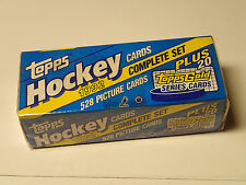 1992 Hockey Topps Factory Sealed Complete Set!  528 cards + 20 Gold