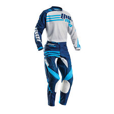 THOR Motocross trousers + Jersey 2016 - Phase Beach - cement-navy