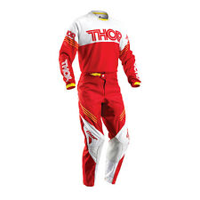 THOR Motocross trousers + Jersey 2016 - Phase Hyperion - red white