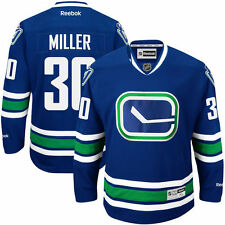 Ryan Miller Vancouver Canucks Reebok Alternate Premier Jersey - Royal Blue - NHL