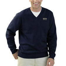 Pitt Panthers Clubhouse V-Neck Sweater - Navy Blue