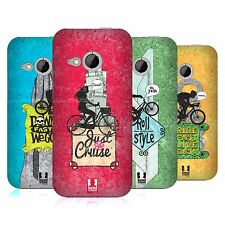 HEAD CASE DESIGNS BICYCLE LOVE HARD BACK CASE FOR HTC ONE MINI 2
