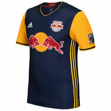 New York Red Bulls adidas 2016 Authentic Secondary Jersey - Navy - MLS