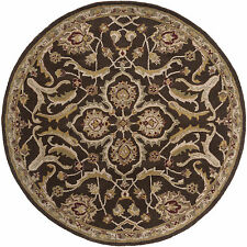 Hand-Tufted Blyth Floral Wool Rug (8' Round)