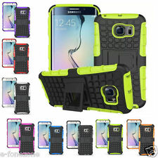 Rugged Hard Heavy Duty Armour Shock Proof Builders Case Cover Samsung S6 S7 EDGE