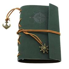 Classic Vintage Faux Leather Cover Nautical String Journal Diary Notebook Gift