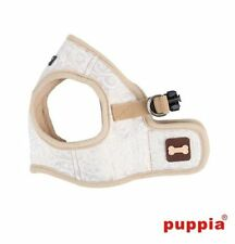 Dog Puppy Harness Soft Vest- Puppia - Gala ll - Beige - Choose Size