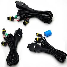 New!!!Relay Wiring Harness for Bi-Xenon HID Xenon Kit 9004/9007 H4/9003 H13/9008