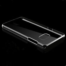 Slim Clear Crystal Hard PC Case Cover For Samsung Galaxy S7/S7 Edge+Screen Film