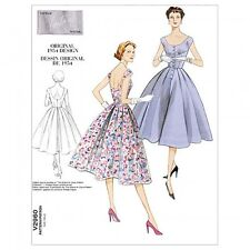 Vogue Ladies Easy Sewing Pattern 2960 Vintage Style Button Up Dress (Vogue-29...