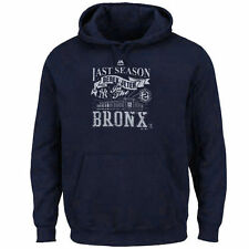 Derek Jeter New York Yankees Majestic Final Season Pullover Hoodie - Navy - MLB