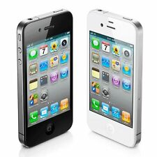 """Apple iPhone 4S 16GB """"Factory Unlocked"""" Black and White Smartphone"""