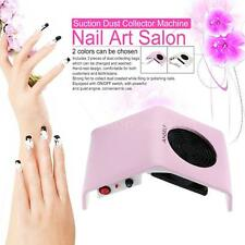 Professional 220V-240V/110V 30W Nail Art Salon Suction Dust Collector G7R0